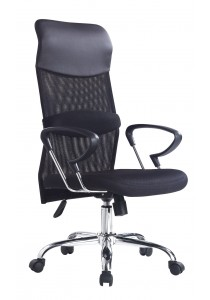 Sam SM Office Chair High Back EE-6322A (Black)