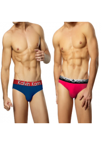 Kalvin Kam Men Brief Underwear (3 Designs Available)