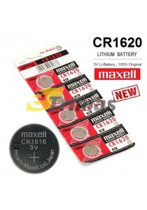 2pcs CR1620 Genuine Maxell Japan Lithium Battery