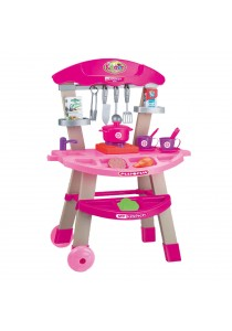 CT Toys Kitchen Trolley Playset