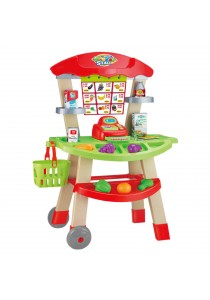 CT Toys Market Trolley Stall Playset