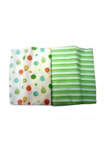 OWEN Baby Receiving Blankets, 2 -Piece Set (Green)