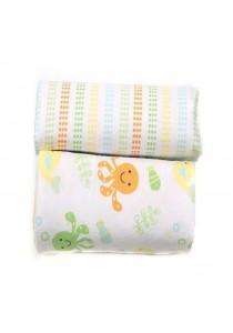 OWEN Baby Receiving Blankets, 2 -Piece Set (Yellow)