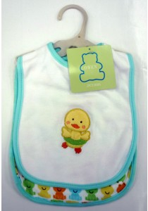 OWEN Baby Bib, 2 -Piece Set (Yellow)