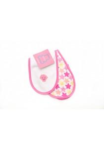 OWEN Baby Burp Cloth, 2 -Piece Set (Pink)