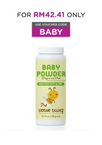 Little Twig Baby Powder - Unscented (Talc-Free)