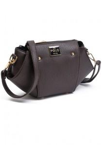 Angel Court Polo Cross-Body Bag ACP67-1762 (Dark Coffee)