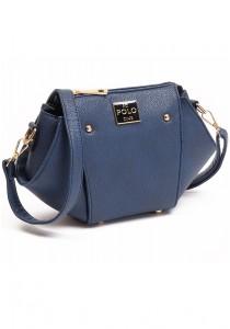 Angel Court Polo Cross-Body Bag ACP67-1763 (Dark Blue)