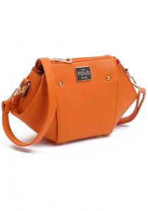 Angel Court Polo Cross-Body Bag ACP67-1764 (Brown)