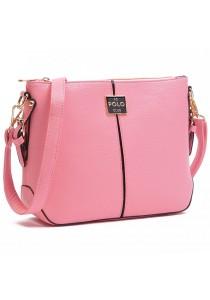 Angel Court Polo Cross-Body Bag ACP67-1766 (Light Pink)