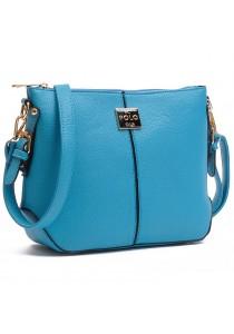 Angel Court Polo Cross-Body Bag ACP67-1767 (Light Blue)