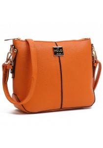 Angel Court Polo Cross-Body Bag ACP67-1768 (Brown)
