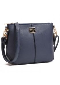 Angel Court Polo Cross-Body Bag ACP67-1769 (Dark Blue)