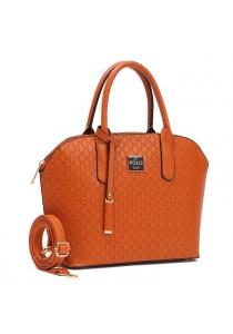 Angel Court Polo Handbag ACP67-1795 (Brown)