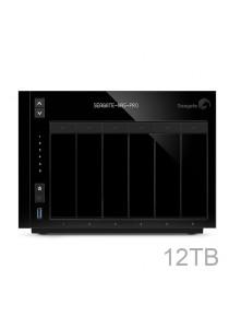 Seagate 12TB NAS Pro, 6-bay (comes with 6 x 2TB drive) - STDF12000300