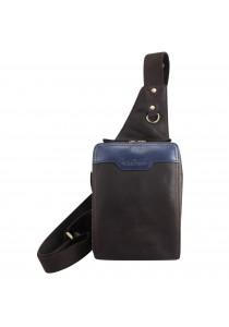 BULL RYDERS Leather Sling Bag BR-88010