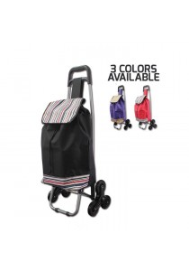 6 Wheels Foldable Shopping Trolley Cart Multifunctional Storage Cart
