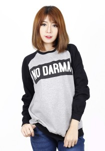 Long Sleeve Graphic Tee - M703 (Black)
