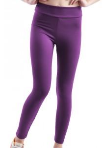 ViQ Yoga Tight Pants (Dark Purple)