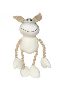 Dogit Eco Terra Toys Natural Canvas and Cotton Dog Toy - Donkey
