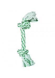 """Dogit Minty Knotted Rope Bone Dog Toy - Medium - 10"""""""