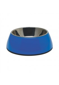 Dogit 2-in-1 Dog Dish - Small - Blue (350ml)