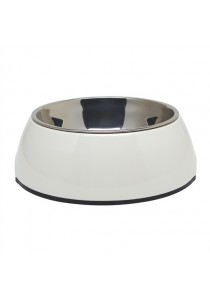 Dogit 2-in-1 Dog Dish - Small - White (350ml)