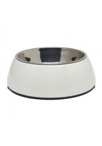 Dogit 2-in-1 Dog Dish - Medium - White (700 ml)