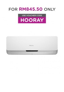 Hisense 1.5 HP Eco-Friendly Air Conditioner HAC-12DJN