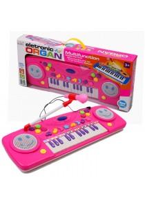 Multifunctional Children Electronic Organ (Pink)