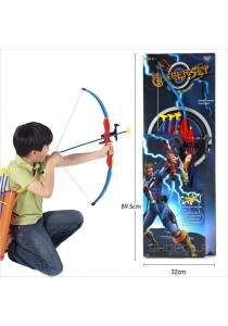 84.5CM Archery Set Youth Archery Bow Sets for Children Aged 3+