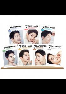 7pcs FORENCOS Song Joong Ki 7 Days Mask (CM-2839)