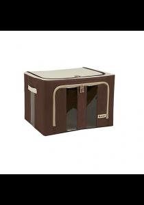 66L Durable Waterproof Double Window Storage Box (Plain)