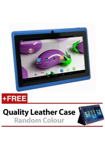 "7"" Ewing Monster A33 Quad Core 1.5gHz 8GB Bluetooth Dual Camera Android 4.4 Tablet + Leather Case"
