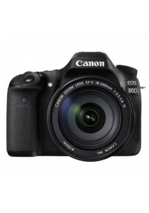 Canon EOS 80D DSLR Camera with EF-S 18-200mm F/3.5-5.6 IS Lens