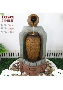 Feng Shui Water Fountain with Garden Decoration 82033