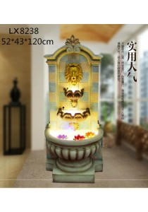 Lion Head Feng Shui Water Fountain LX8238