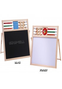 Wooden Educational Multipurpose Double-Sided Magnetic Writing & Drawing Board