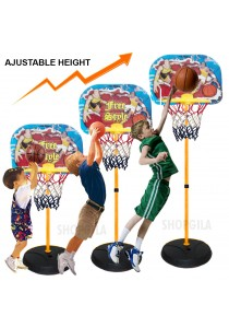 Basketball Play Set With Height Adjustable Stand for Indoor & Outdoor Game