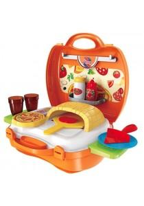 BOWA Dream The Suitcase Pizza Kitchen Set Play Set