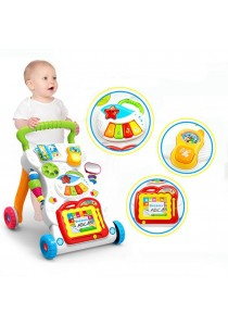 Huanger Baby Activity Sit-to-Stand Learning Walker (Chinese Version)