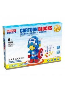 Balody Serial Block Toy, Cartoon Series, Model: 68009 (503 PCS)