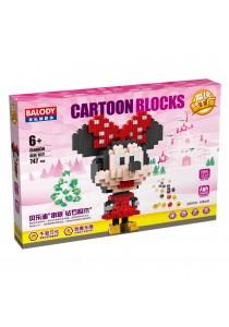 Balody Serial Block Toy, Cartoon Series, Model: CL68030 (747 PCS)
