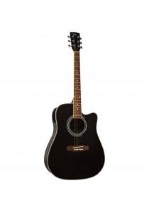 Custom Acoustic FG802CEQ BK