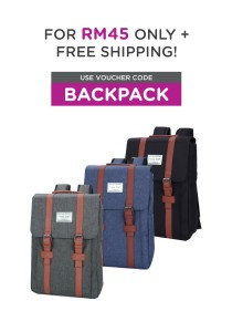 Travel Star 3249 Europena Style Premium Double Strap Laptop Backpack
