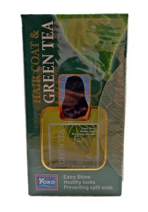 Yoko Hair Coat & Green Tea