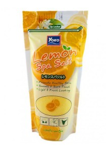 Yoko Lemon Spa Salt
