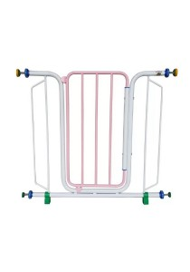 Asogo Safety Security 886 Baby Gate (Light Pink)