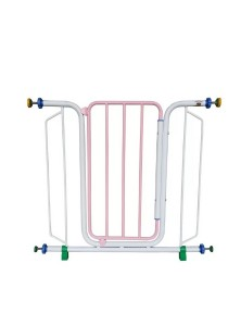 Asogo Safety Security 888 Baby Gate (Light Pink)