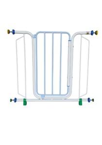 Asogo Safety Security 888 Baby Gate (Light Blue)
